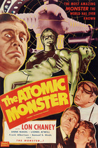 Man Made (Atomic) Monster poster