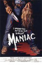 Maniac 1980 poster