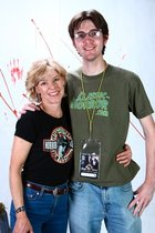 Editor-in-Creep Nate Yapp with Adrienne King #1