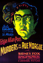 Murders in the Rue Morgue 1932 poster