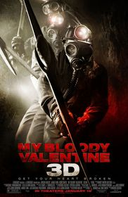 My Bloody Valentine 3D poster