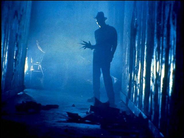 Freddy in shadow