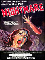 Nightmare 1981 poster art