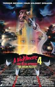 Nightmare on Elm Street 4 poster