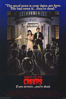 Night of the Creeps poster art