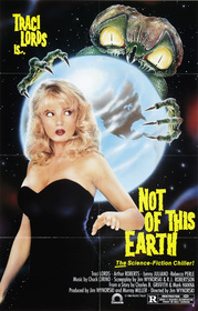 Not of This Earth 1988 poster