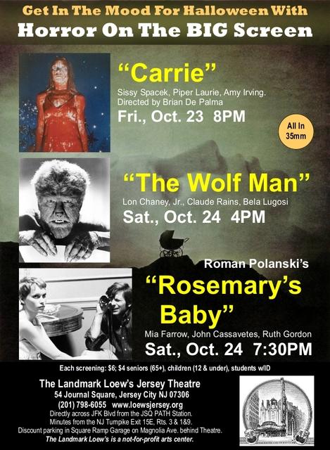 Loew's Landmark October Horror