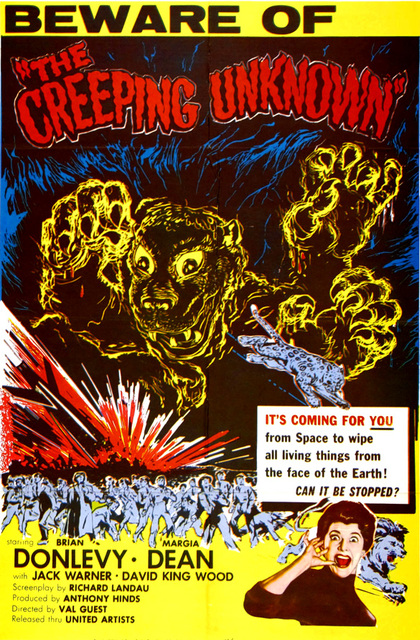 The Creeping Unknown (The Quatermass Xperiment) poster