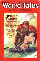 Red Shadows (Weird Tales cover)
