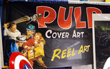 Banner at the Reel Art booth