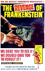 Revenge of Frankenstein poster
