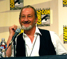 Robert Englund at the Jack Brooks panel at San Diego Comic-Con 2008