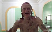 Old Hag in Room 237 in The Shining