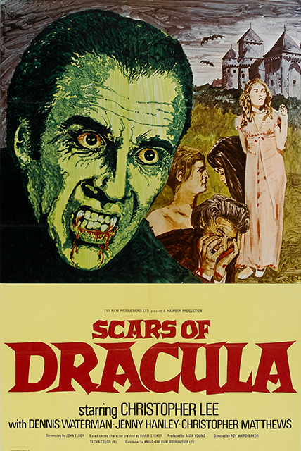 Scars of Dracula poster