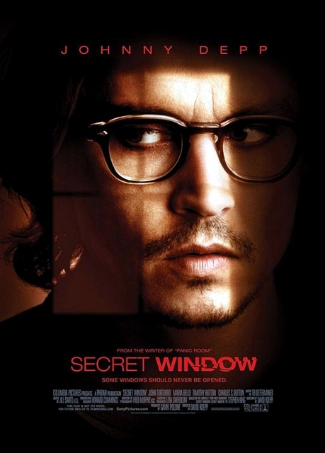 Secret Window poster
