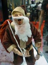 Zombie Mall Santa
