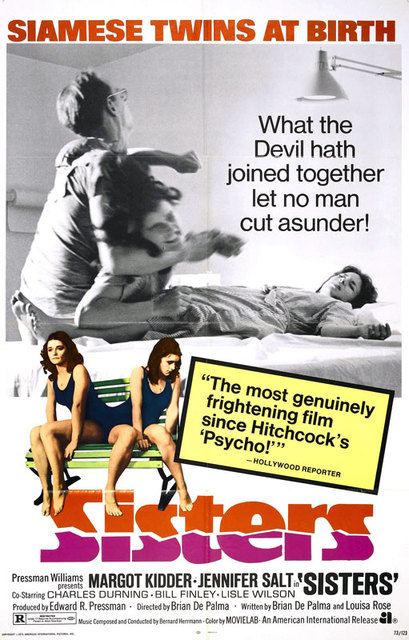 Sisters (1973) poster