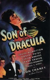 Son of Dracula 1943 poster