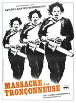 Texas Chain Saw Massacre poster (French)