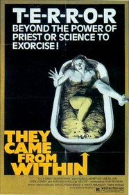 Shivers (They Came From Within) Poster