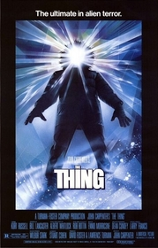 The Thing 1982 poster