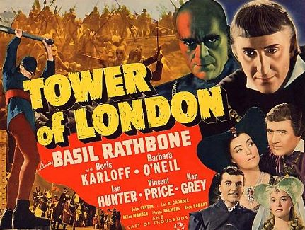 Tower of London 1939 poster