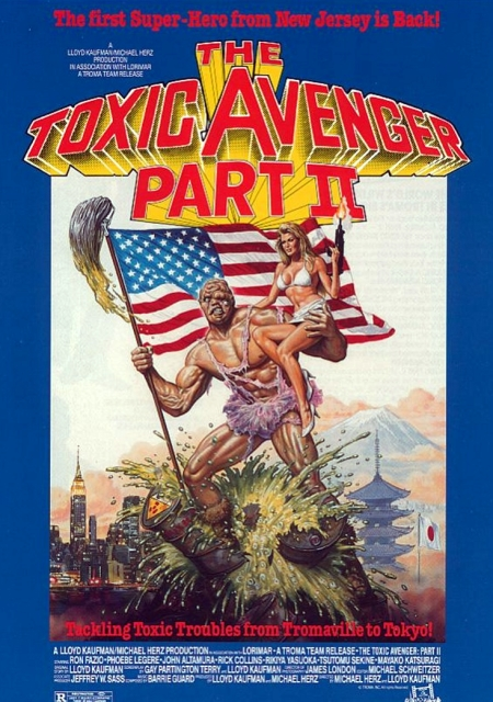 Toxic Avenger Part II poster