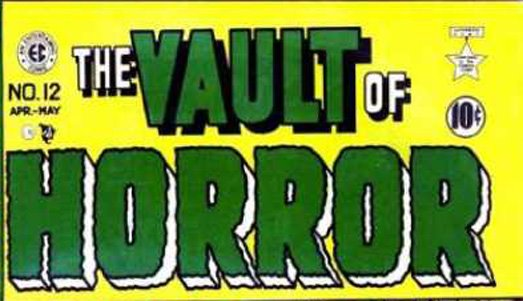 The Vault of Horror blog logo