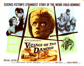 Village of the Damned quad