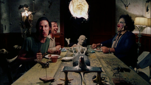 The Dinner Scene in The Texas Chain Saw Massacre