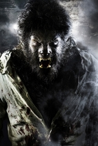 Benicio del Toro as The Wolf Man #1