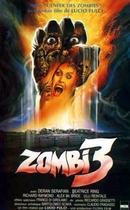 Zombi 3 poster
