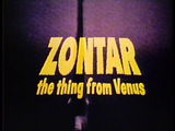 Zontar: The Thing from Venus title Card