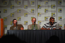 Kane Hodder, Robert Englund, and Tony Todd