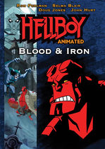 Hellboy Animated: Blood and Iron on DVD from Starz Home Entertainment