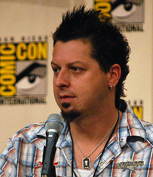 Rob Hall at San Diego Comic-Con 2008. Photo by Nate Yapp.